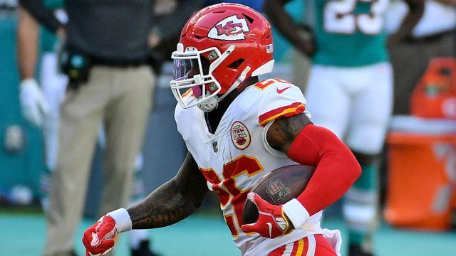 Kansas City Chiefs running back Le'Veon Bell