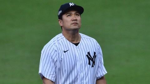 MLB free agent pitcher Masahiro Tanaka
