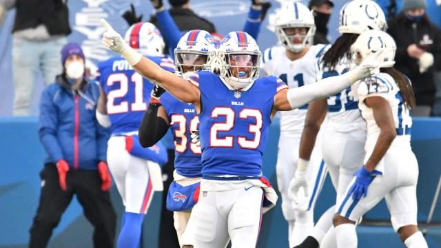 Buffalo Bills strong safety Micah Hyde