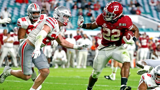 Alabama Crimson Tide running back Najee Harris