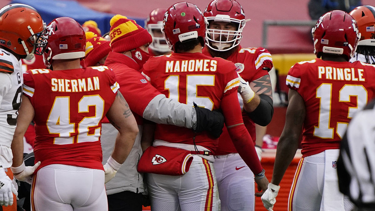 Patrick Mahomes Injury: Encouraging Update On Chiefs QB ...