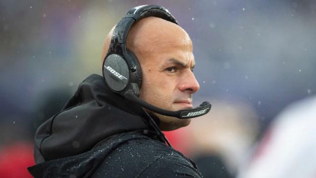 New York Jets head coach Robert Saleh