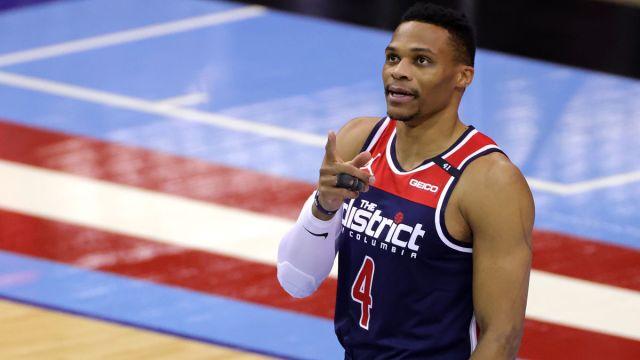 Washington Wizards guard Russell Westbrook