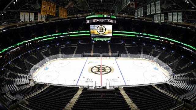 Boston Bruins arena TD Garden