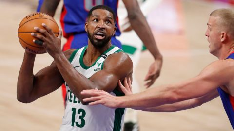 Boston Celtics center Tristan Thompson