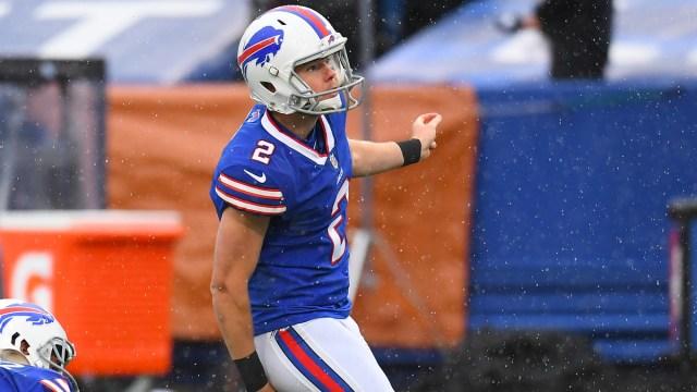 Buffalo Bills kicker Tyler Bass