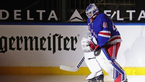 New York Rangers Goalie Alexandar Georgiev