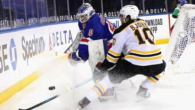 Boston Bruins Forward Anders Bjork