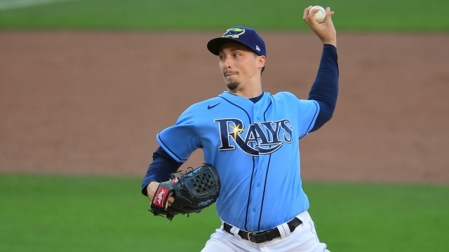 San Diego Padres Pitcher Blake Snell