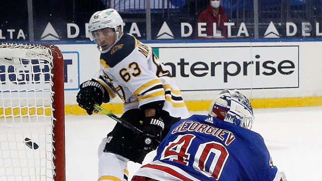 Boston Bruins winger Brad Marchand overtime goal vs. New York Rangers