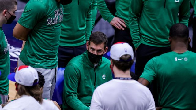 Boston Celtics coach Brad Stevens