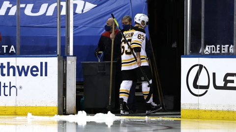 Boston Bruins Forward Brad Marchand