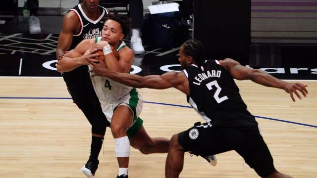 Boston Celtics guard Carsen Edwards