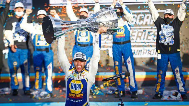 NASCAR Cup champion Chase Elliott