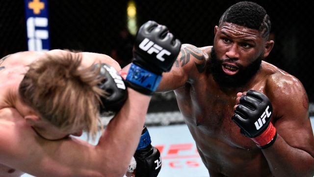 UFC Fight Night Curtis Blaydes