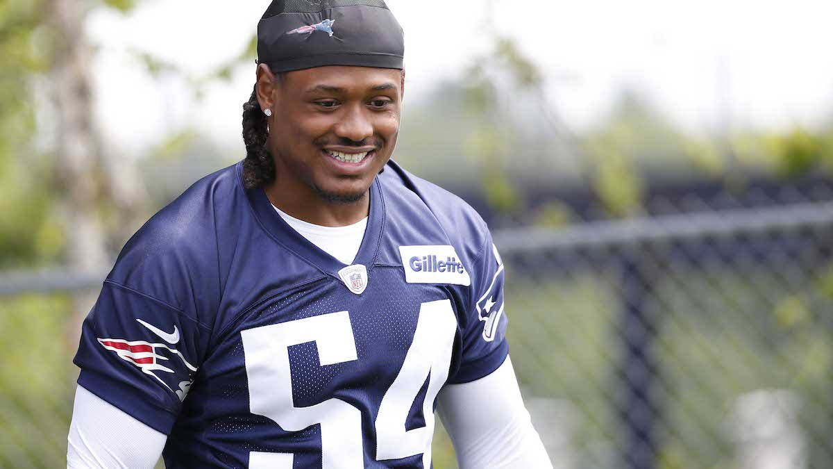 Dont'a Hightower Arrives At Patriots OTAs; Cam Newton, Wideout Absent