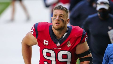 Free Agent defensive end J.J. Watt