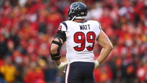 NFL Free Agent Defensive End J.J. Watt