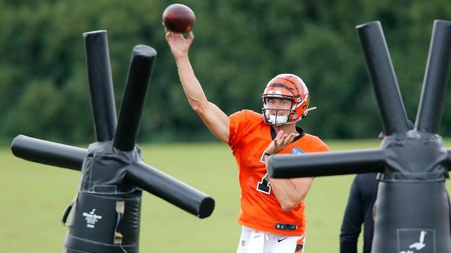 Patriots quarterback Jake Dolegala