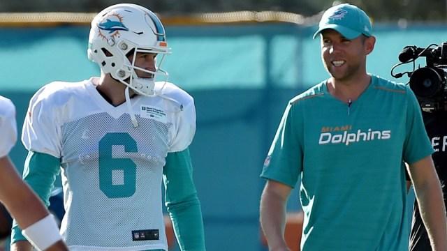 Miami Dolphins quarterback Jay Cutler