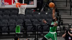 Boston Celtics guard Jaylen Brown