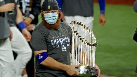 Los Angeles Dodgers third basemen Justin Turner
