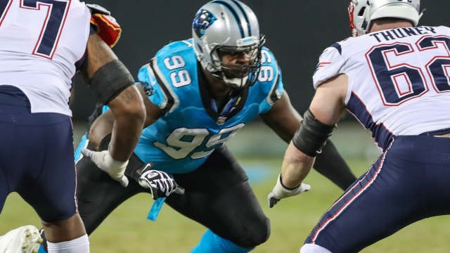Carolina Panthers defensive tackle Kawann Short