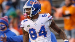 Florida tight end and 2021 NFL Draft prospect Kyle Pitts