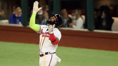 Atlanta Braves Outfielder Marcell Ozuna