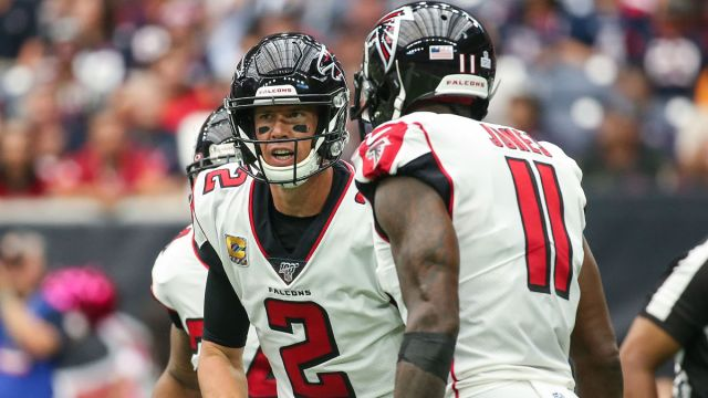 Atlanta Falcons quarterback Matt Ryan and wide receiver Julio Jones