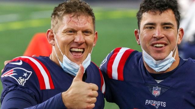 New England Patriots kicker Nick Folk