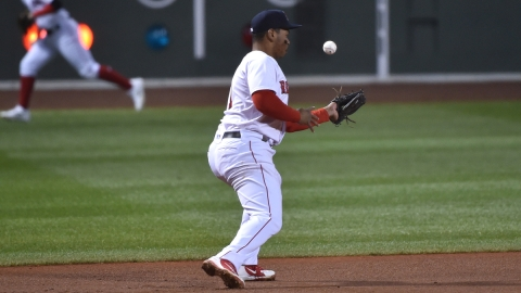 Boston Red Sox Third Baseman Rafael Devers