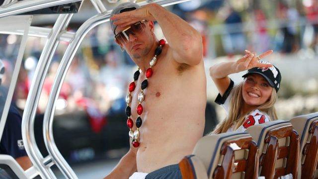 Tampa Bay Buccaneers tight end Rob Gronkowski