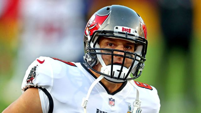 Tampa Bay Buccaneers tight end Rob Gronkowski