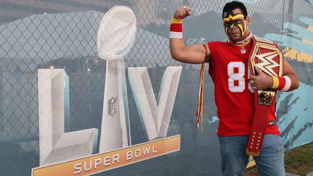 Super Bowl fan