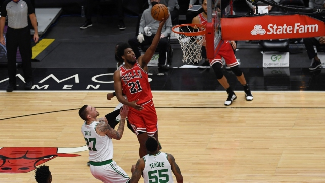 Chicago Bulls forward Thaddeus Young