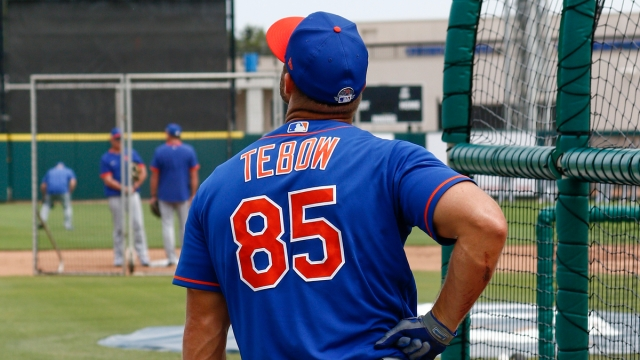 Former New York Mets Outfielder Tim Tebow