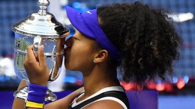 Professional tennis player Naomi Osaka