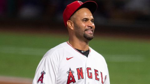 Los Angeles Angels first baseman Albert Pujols