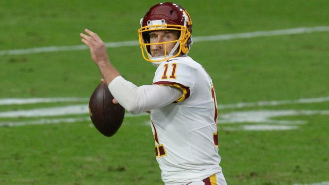 Washington Football Team quarterback Alex Smith