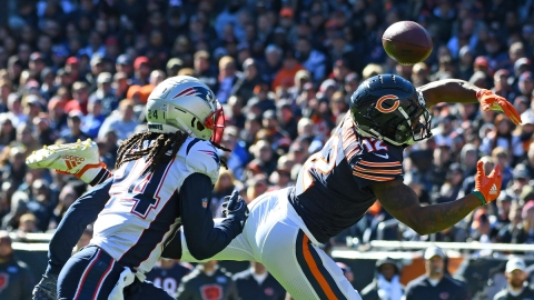 Chicago Bears wide receiver Allen Robinson, New England Patriots cornerback Stephon Gilmore