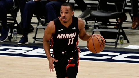 Miami Heat guard Avery Bradley
