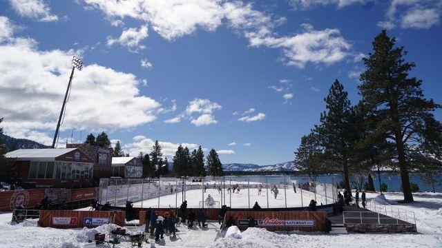 Bruins Flyers Lake Tahoe