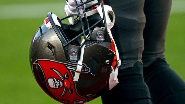 Tampa Bay Buccaneers helmet
