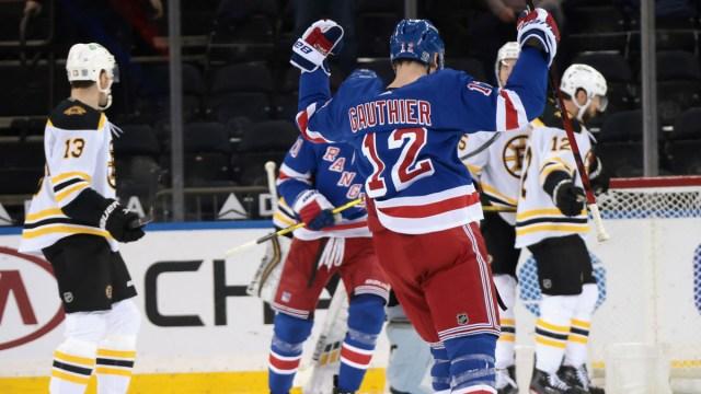 Boston Bruins Forwards Charlie Coyle & Craig Smith