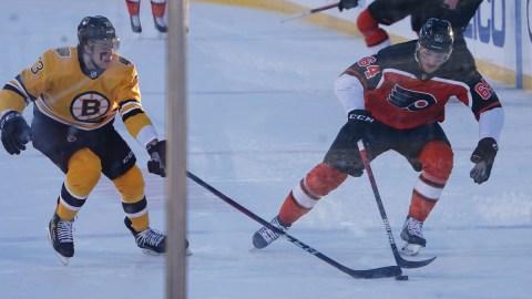 Boston Bruins defenseman Charlie McAvoy