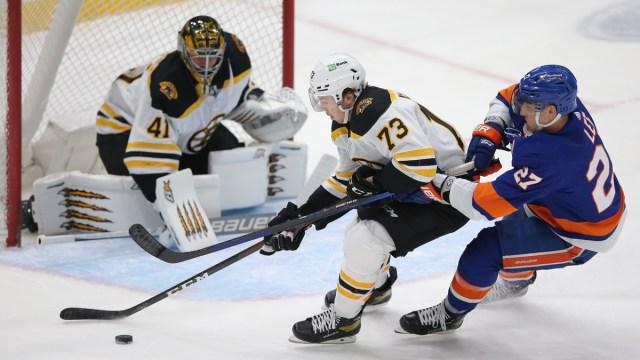 Boston Bruins Defenseman Charlie McAvoy & Goaltender Jaroslav Halak
