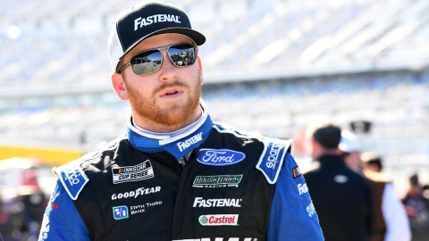 NASCAR Cup Series driver Chris Buescher