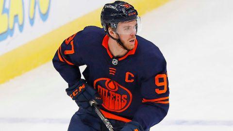 Edmonton Oilers forward Connor McDavid