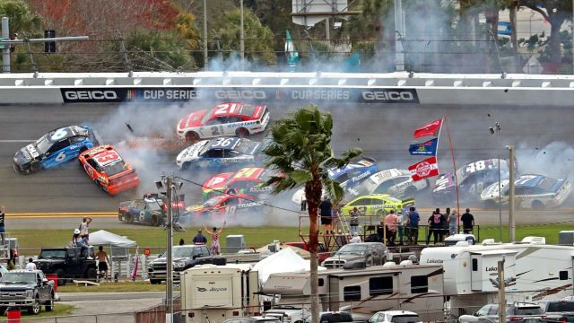 Wreck at 2021 Daytona 500
